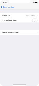 Apple iPhone X - Red - Seleccionar el tipo de red - Paso 5
