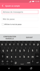 HTC Desire EYE - E-mail - Configuration manuelle - Étape 6