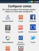 Motorola Master XT605 - Email - Como configurar seu celular para receber e enviar e-mails - Etapa 5