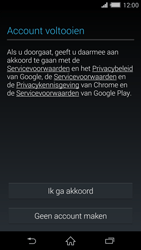 Sony Xperia Z2 4G (D6503) - Applicaties - Account aanmaken - Stap 14