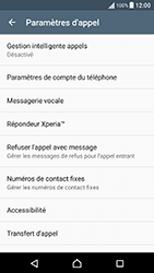 Sony Xperia X Performance (F8131) - Messagerie vocale - Configuration manuelle - Étape 5