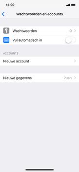 Apple iPhone X - iOS 12 - E-mail - handmatig instellen (yahoo) - Stap 4