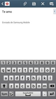 Samsung Galaxy Note 3 - E-mail - Escribir y enviar un correo electrónico - Paso 10