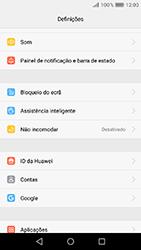 Huawei Y6 (2017) - Segurança - Como ativar o código de bloqueio do ecrã -  3