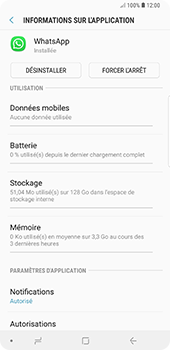 Samsung Galaxy Note 9 - Applications - Supprimer une application - Étape 6