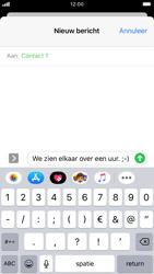 Apple iPhone 8 - iOS 13 - MMS - afbeeldingen verzenden - Stap 9