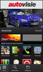 BlackBerry Z10 - Applications - Télécharger des applications - Étape 3