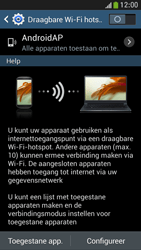 Samsung I9195 Galaxy S IV Mini LTE - WiFi - Mobiele hotspot instellen - Stap 7