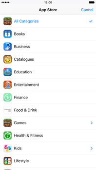 Apple iPhone 6 Plus iOS 9 - Applications - Download apps - Step 6
