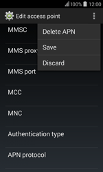 Acer Liquid Z200 - Internet - Manual configuration - Step 18