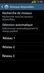 Samsung S7275 Galaxy Ace 3 - Réseau - utilisation à l'étranger - Étape 12