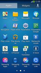 Samsung C105 Galaxy S IV Zoom LTE - Wifi - configuration manuelle - Étape 2
