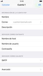 Apple iPhone 6s - iOS 11 - E-mail - Configurar correo electrónico - Paso 22