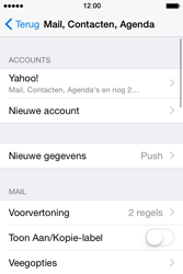 Apple iPhone 4S iOS 8 - E-mail - handmatig instellen (yahoo) - Stap 10