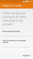 Wiko Rainbow Lite 4G - E-mails - Ajouter ou modifier un compte e-mail - Étape 20