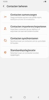 Samsung galaxy-note-9-sm-n960f-android-pie - Contacten en data - Contacten kopiëren van toestel naar SIM - Stap 6