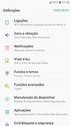 Samsung Galaxy A3 (2017) - Internet no telemóvel - Como ativar os dados móveis -  4