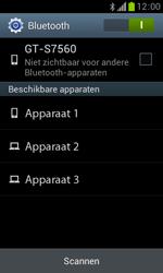 Samsung S7560 Galaxy Trend - Bluetooth - Aanzetten - Stap 5
