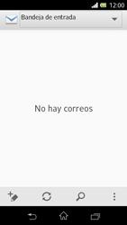 Sony Xperia L - E-mail - Configurar correo electrónico - Paso 4
