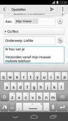 Huawei Ascend P7 - E-mail - Bericht met attachment versturen - Stap 10