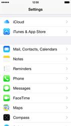 Apple iPhone 5s - iOS 8 - E-mail - Manual configuration (gmail) - Step 3