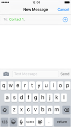 Apple iPhone 5c iOS 9 - Mms - Sending a picture message - Step 6