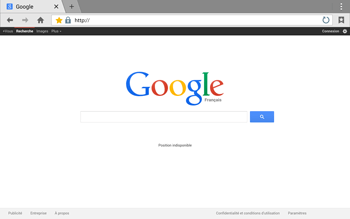 Samsung T805 Galaxy Tab S - Internet - Navigation sur Internet - Étape 12