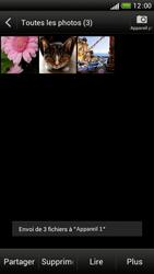 HTC One S - Photos, vidéos, musique - Envoyer une photo via Bluetooth - Étape 14