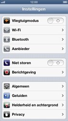 Apple iPhone 5 - Wifi - handmatig instellen - Stap 3