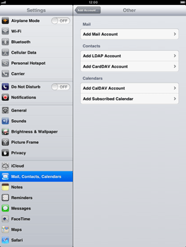 Apple iPad mini - E-mail - Manual configuration - Step 6