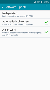 Samsung N910F Galaxy Note 4 - Software update - update installeren zonder PC - Stap 6