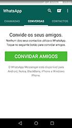 Huawei Y5 II - Aplicações - Como configurar o WhatsApp -  11
