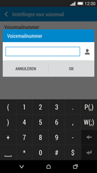 HTC One Mini 2 - Voicemail - handmatig instellen - Stap 7