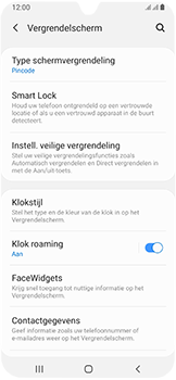 Samsung Galaxy A40 - Beveiliging - stel in of wijzig pincode voor je toestel - Stap 13