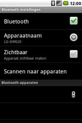 LG GW620 - Bluetooth - koppelen met ander apparaat - Stap 12