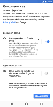 Nokia 7 Plus - Applicaties - Account instellen - Stap 17