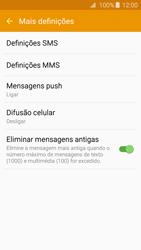 Samsung Galaxy A3 A310F 2016 - SMS - Como configurar o centro de mensagens -  7
