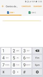 Samsung Galaxy J5 (2016) DualSim (J510) - SMS - Como configurar o centro de mensagens -  10