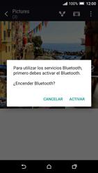 HTC One A9 - Bluetooth - Transferir archivos a través de Bluetooth - Paso 12
