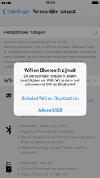 Apple iPhone 6s met iOS 10 (Model A1688) - WiFi - Mobiele hotspot instellen - Stap 7