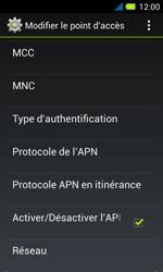 Acer Liquid Z4 - Internet - Configuration manuelle - Étape 14