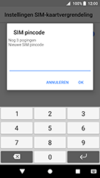 Sony Xperia XA2 (H3113) - Beveiliging en ouderlijk toezicht - Hoe wijzig ik mijn SIM PIN-code - Stap 8