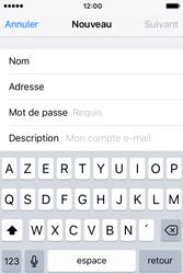 Apple iPhone 4 S iOS 9 - E-mail - Configuration manuelle - Étape 8