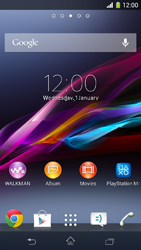 Sony Xperia Z1 Compact D5503 - Internet - Manual configuration - Step 1