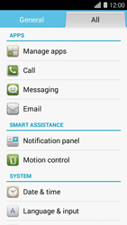 Huawei Ascend Y550 - Voicemail - Manual configuration - Step 3
