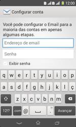 Sony D2105 Xperia E1 Dual - Email - Como configurar seu celular para receber e enviar e-mails - Etapa 5