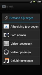 Sony Ericsson Xperia Neo met OS 4 ICS - E-mail - Hoe te versturen - Stap 12