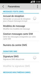 Huawei Ascend Y530 - SMS - configuration manuelle - Étape 7