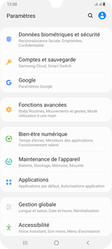 Samsung Galaxy A70 - Sécurité - modifier SIM PIN - Étape 4