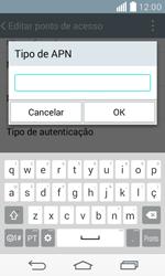 LG D390n F60 - Internet (APN) - Como configurar a internet do seu aparelho (APN Nextel) - Etapa 13